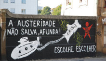 Wall Portugal austerity
