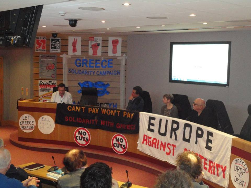Greece Solidarity Campaign Pre-Election Briefing in London